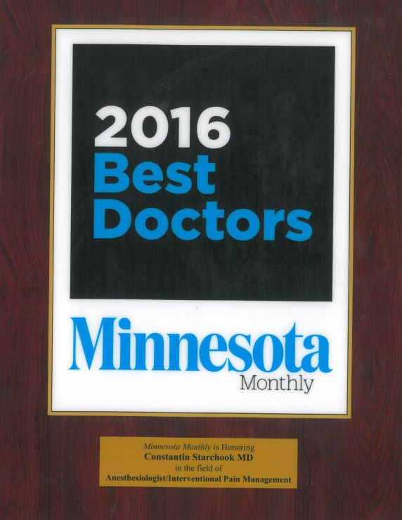 2016 best Doctors / Minnesota